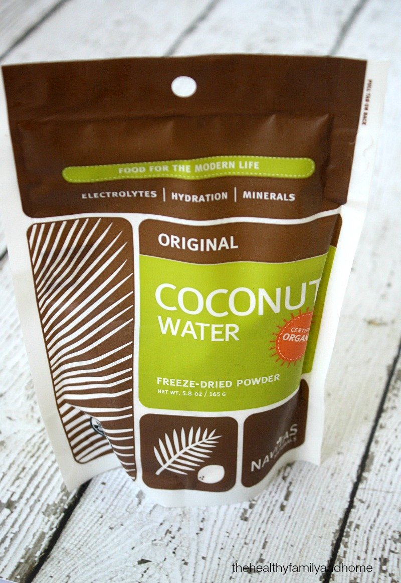 Navitas Naturals Organic Coconut Water Powder - The Green Polka Dot Box Review | The Healthy Family and Home