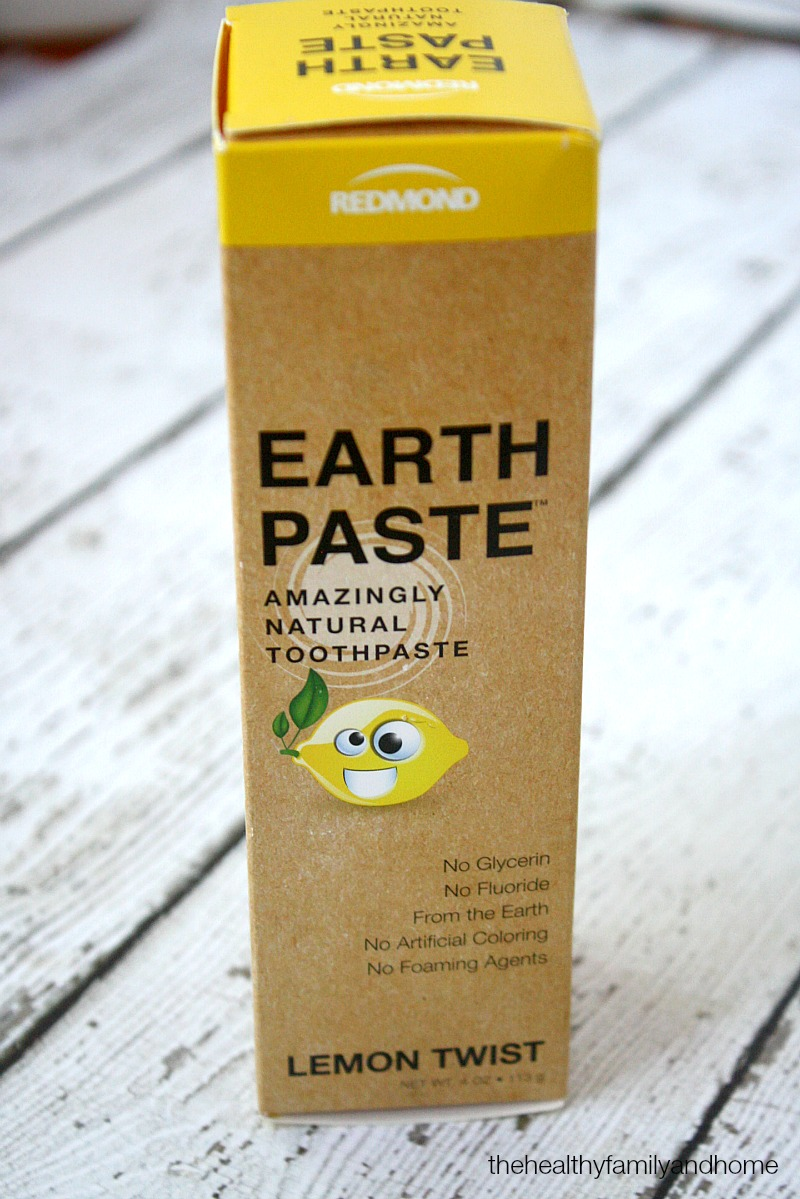 Earthpaste - The Green Polka Dot Box Review | The Healthy Family and Home