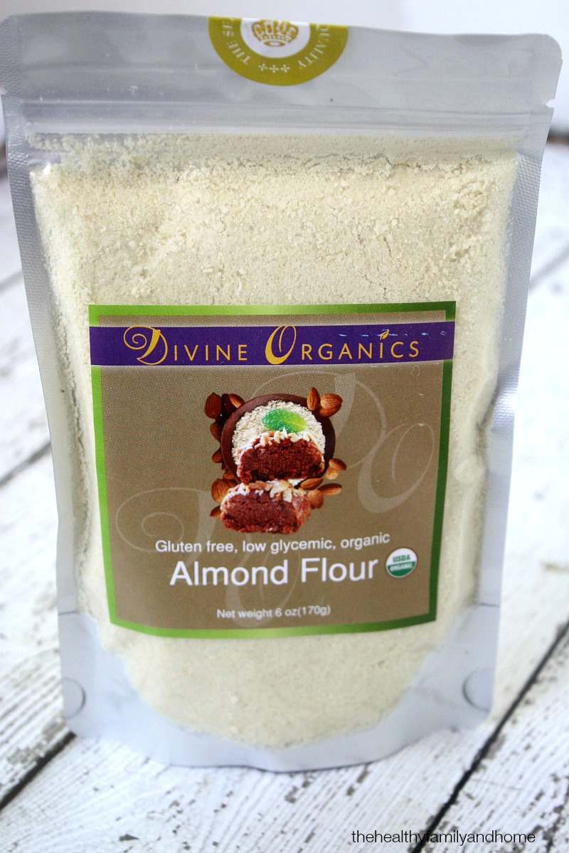 Divine Organics Raw Almond Flour - The Green Polka Dot Box Review | The Healthy Family and Home
