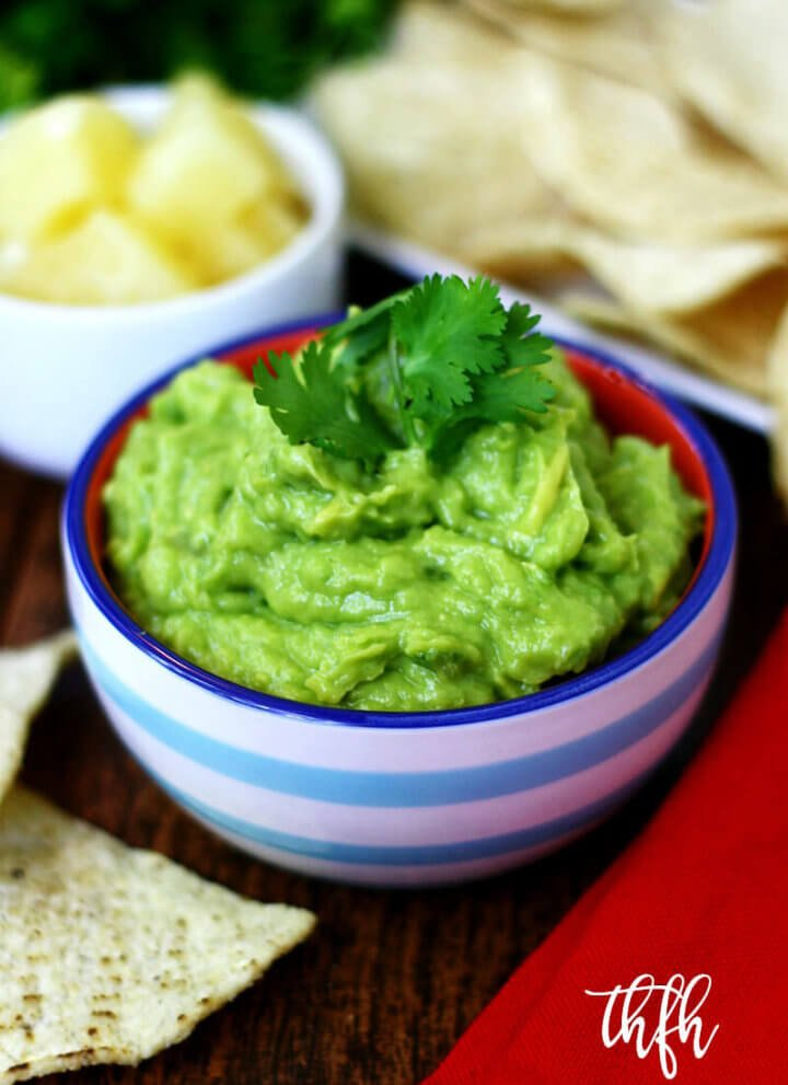 Clean Eating Vegan Pineapple Guacamole   The Healthy Family and Home
