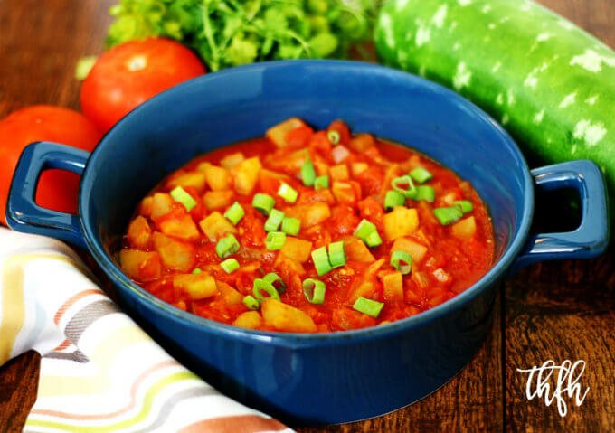 Italian Cucuzza Squash Stew | The Healthy Family and Home