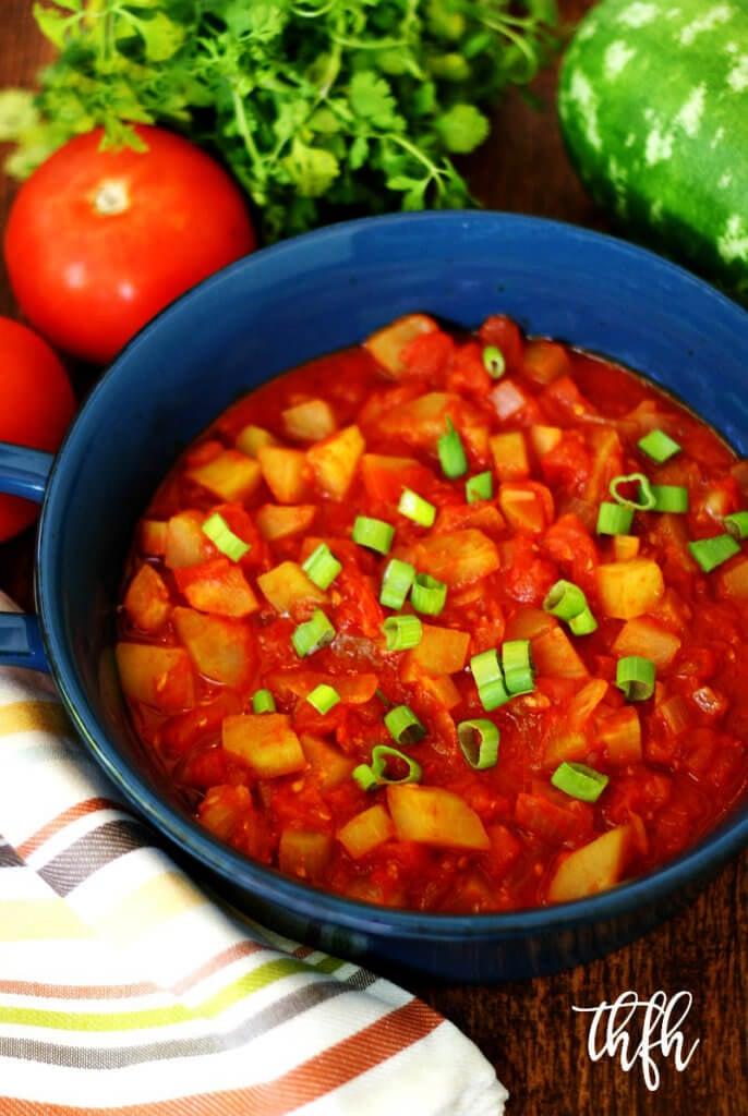 Italian Cucuzza Squash Stew