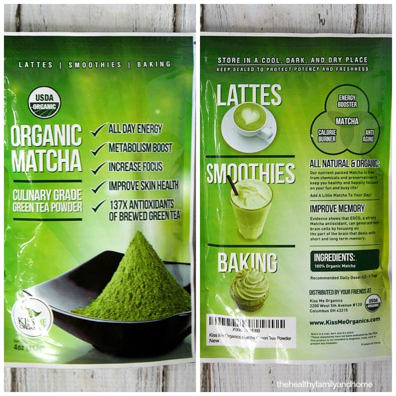 Organic Matcha Review | The Healthy Family and Home