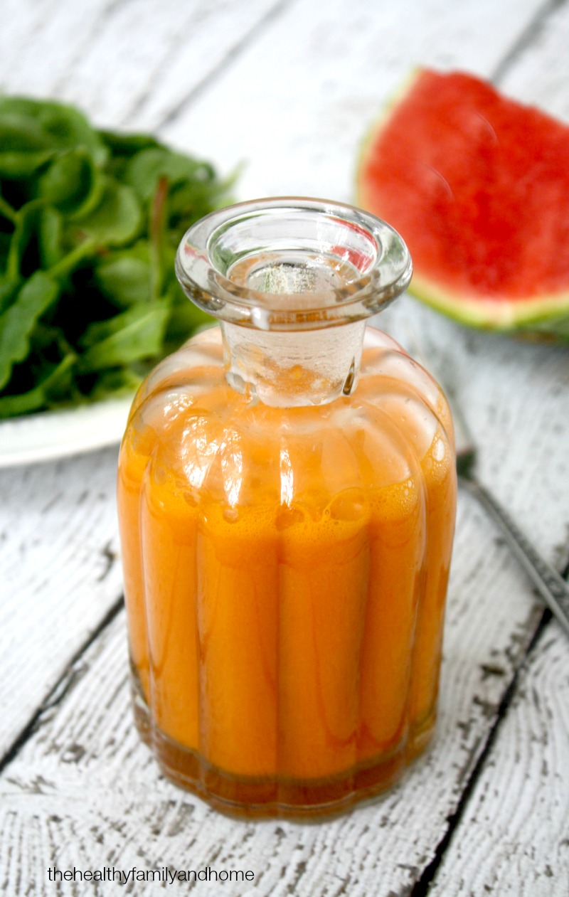 Clean Eating Watermelon Vinaigrette - Raw, Vegan, Gluten-Free, Dairy-Free, Paleo-Friendly and No Refined Sugar | The Healthy Family and Home