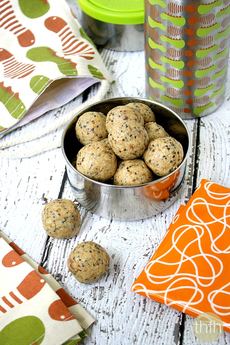 Crispy Cashew Butter Energy Balls - Vegan, Gluten-Free, Dairy-Free, No Refined Sugar | The Healthy Family and Home
