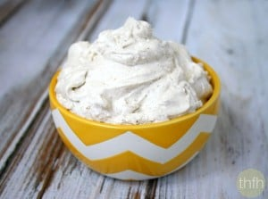How To Make Whipped Coconut Cream Topping (Vegan, Gluten-Free, Dairy-Free, Paleo-Friendly, No Refined Sugar)