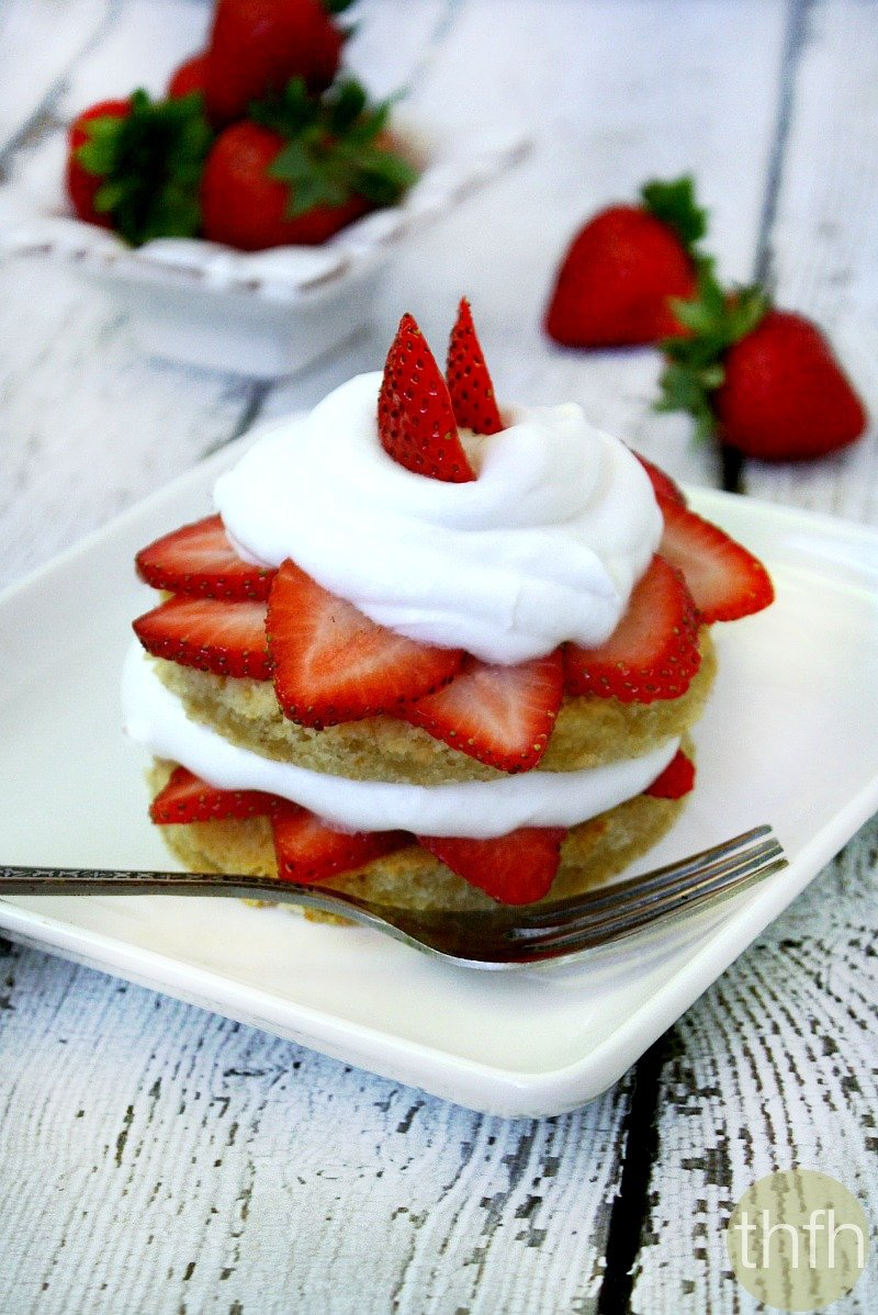 Gluten-Free Strawberry Shortcake - Vegan, Gluten-Free, Dairy-Free, Egg-Free, Paleo-Friendly, No Refined Sugar | The Healthy Family and Home