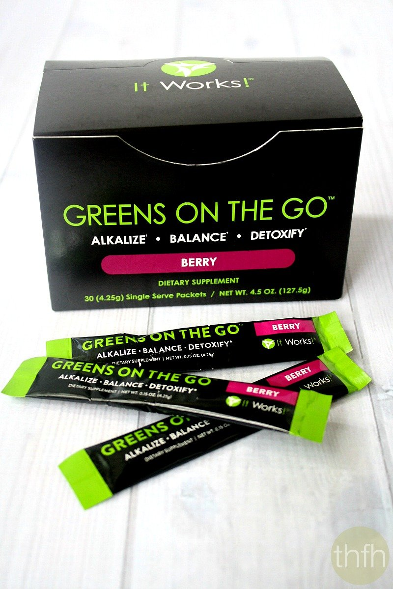 Quot Greens On The Go Berry Quot It Works Global The Healthy