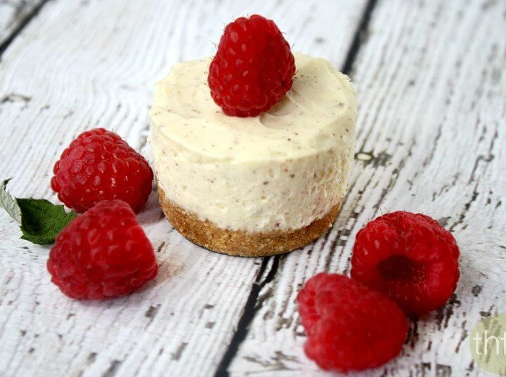 No-Bake Mini Cheesecakes (Low Carb + Low Sugar)