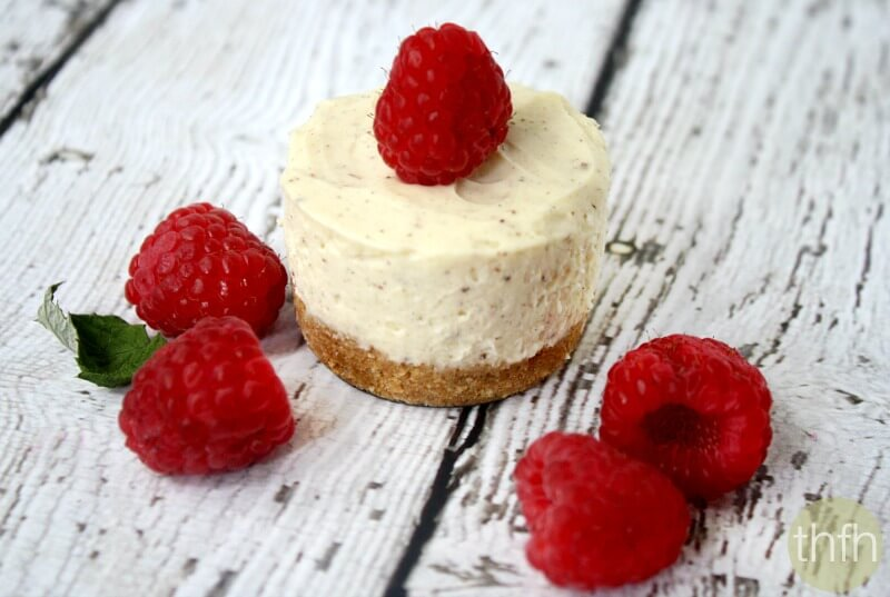 No-Bake Mini Cheesecakes (Low Carb + Low Sugar)
