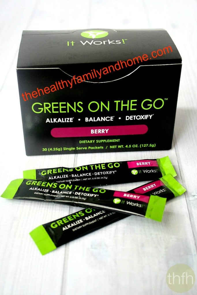 """Greens On The Go - Berry"" It Works! Global"