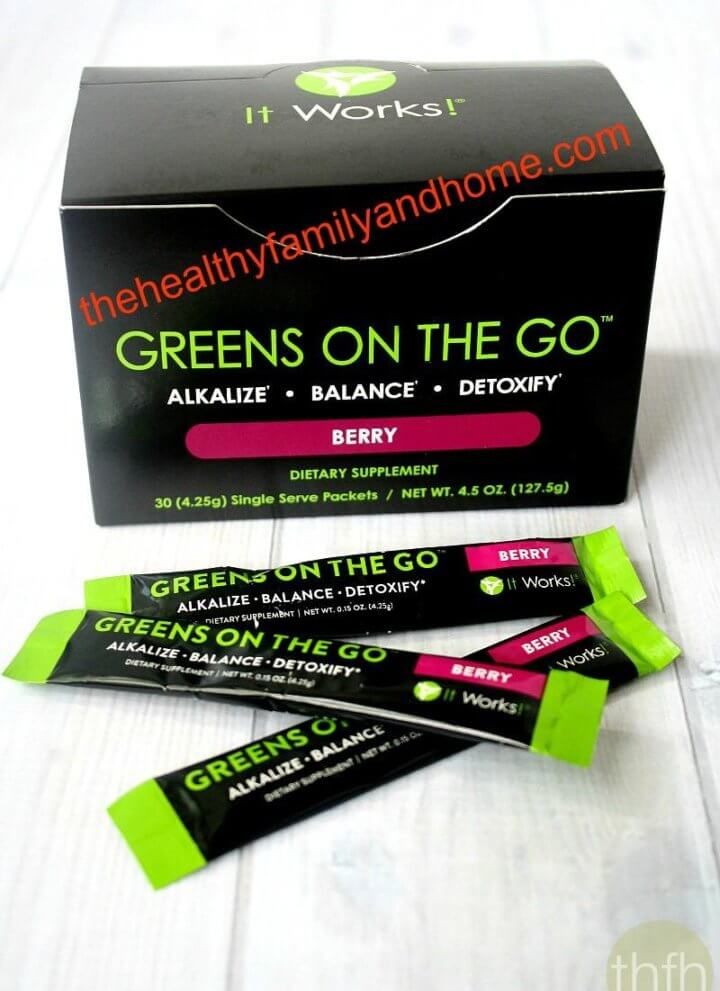 """""""Greens On The Go"""" from It Works! Global"""