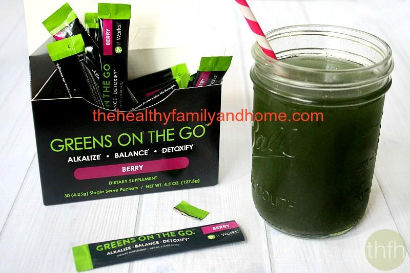 It Works! Greens On The Go Review | The Healthy Family and Home