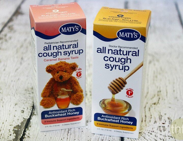 Maty's All Natural Cough Syrup + GIVEAWAY!