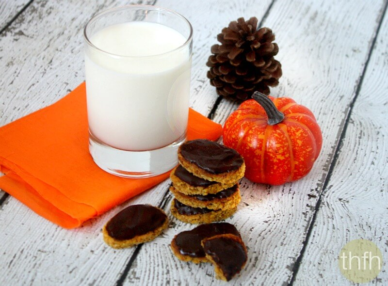 Chocolate Frosted Gluten-Free Pumpkin Cookies - Vegan, Gluten-Free, Dairy-Free, Paleo-Friendly, No Refined Sugar   The Healthy Family and Home