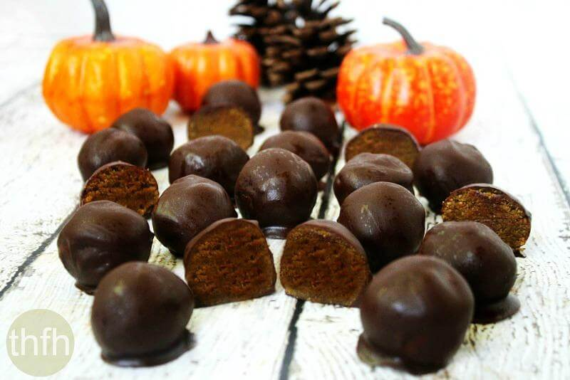 Clean Eating Pumpkin Truffles | The Healthy Family and Home