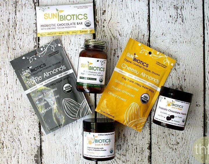Sunbiotics Organic Probiotics