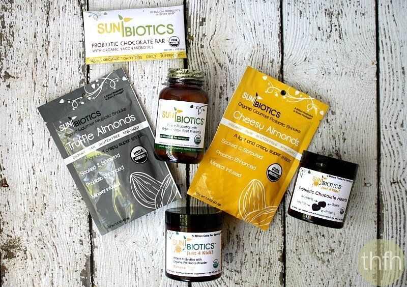 Sunbiotics Organic Probiotics | The Healthy Family and Home