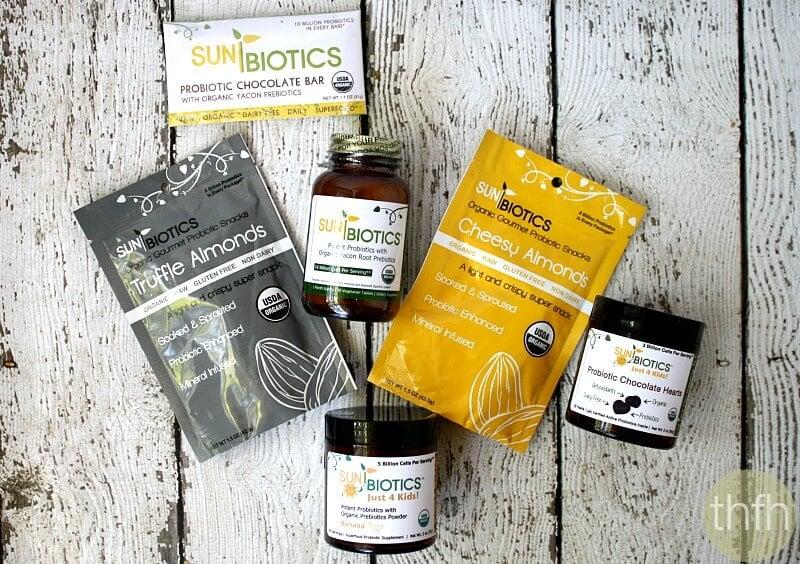 Sunbiotics Organic Probiotics | The Healthy Family and Home