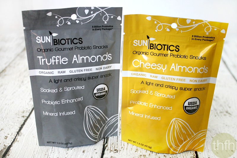 Sunbiotics Organic Gourmet Probiotic Snacks | The Healthy Family and Home