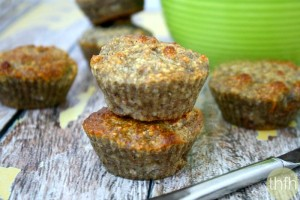 Gluten-Free Vegan Banana Walnut Muffins (Vegan, Gluten-Free, Grain-Free, Flourless, Dairy-Free, Egg-Free, Paleo-Friendly, No Refined Sugars)