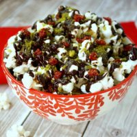 Clean Eating Cacao Drizzle Holiday Popcorn - Vegan, Gluten-Free, Dairy-Free, No Refined Sugars   The Healthy Family and Home