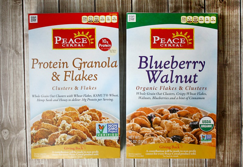 Peace Cereal from Attune Foods, LLC | The Healthy Family and Home