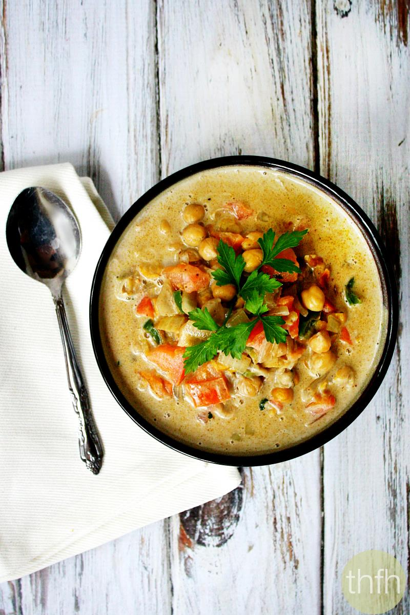 Spicy Chickpea and Tomato Soup | The Healthy Family and Home