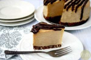 "Vegan No-Bake Peanut Butter Cheesecake (""Almost Raw"", Vegan, Gluten-Free, Dairy-Free, No-Bake, Egg-Free, Soy-Free, No Refined Sugar)"
