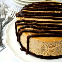 Vegan No-Bake Peanut Butter Cheesecake | The Healthy Family and Home