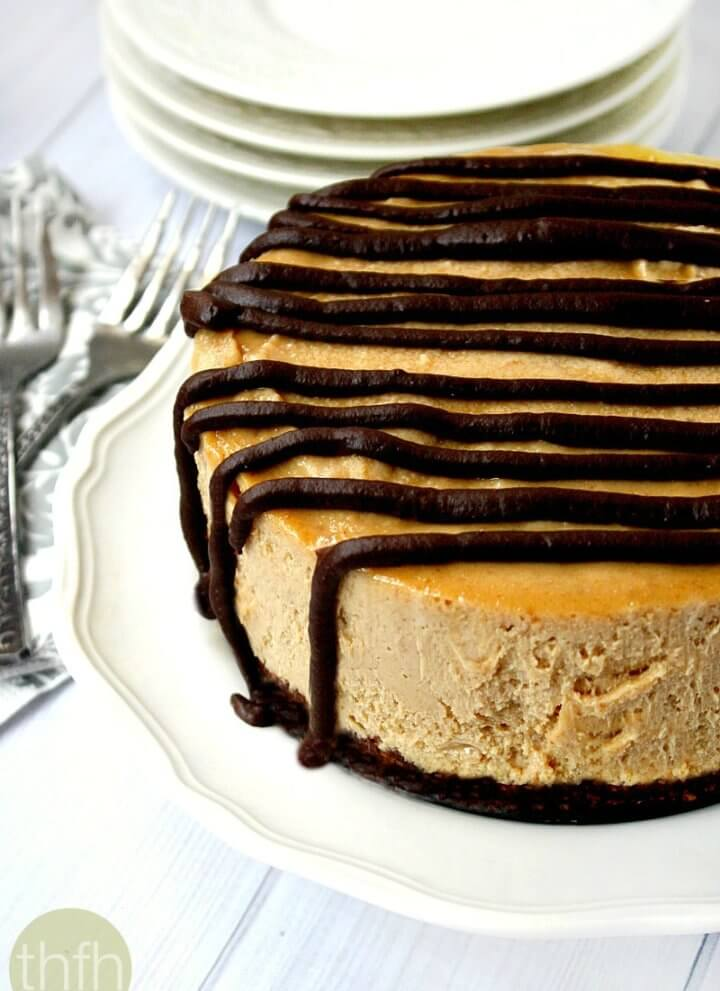 Vegan No-Bake Peanut Butter Cheesecake