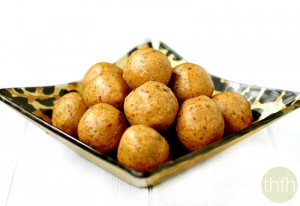 Vanilla Bean Peanut Butter Protein Balls (Vegan, Gluten-Free, Dairy-Free, No Refined Sugars)