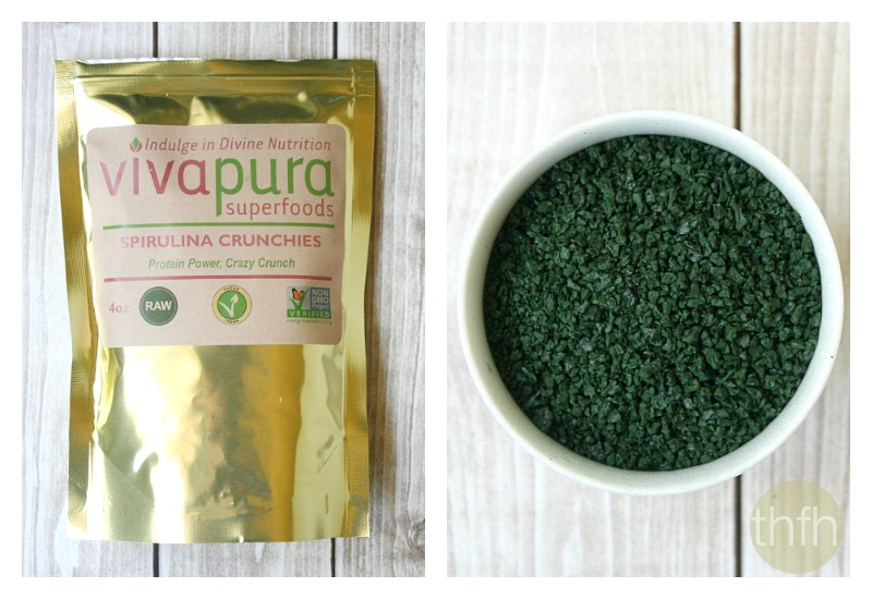 Vivapura Spirulina Crunchies | The Healthy Family and Home