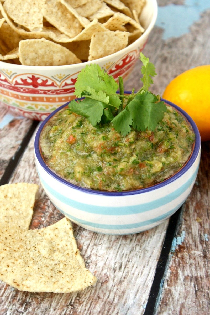 Cilantro And Lime Salsa The Healthy Family And Home