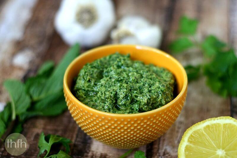 Fresh Herb and Tahini Pesto