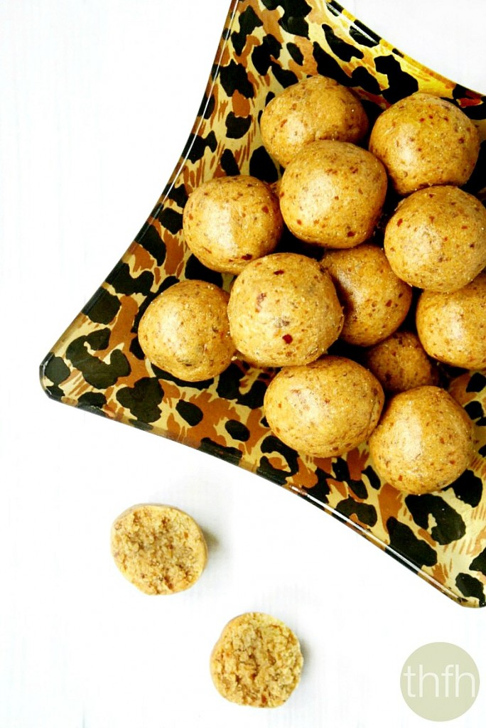 Vanilla Bean Peanut Butter Protein Balls | The Healthy Family and Home