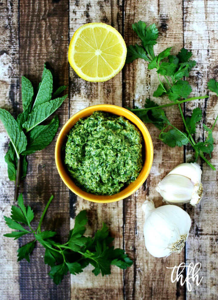 Fresh Herb and Tahini Pesto
