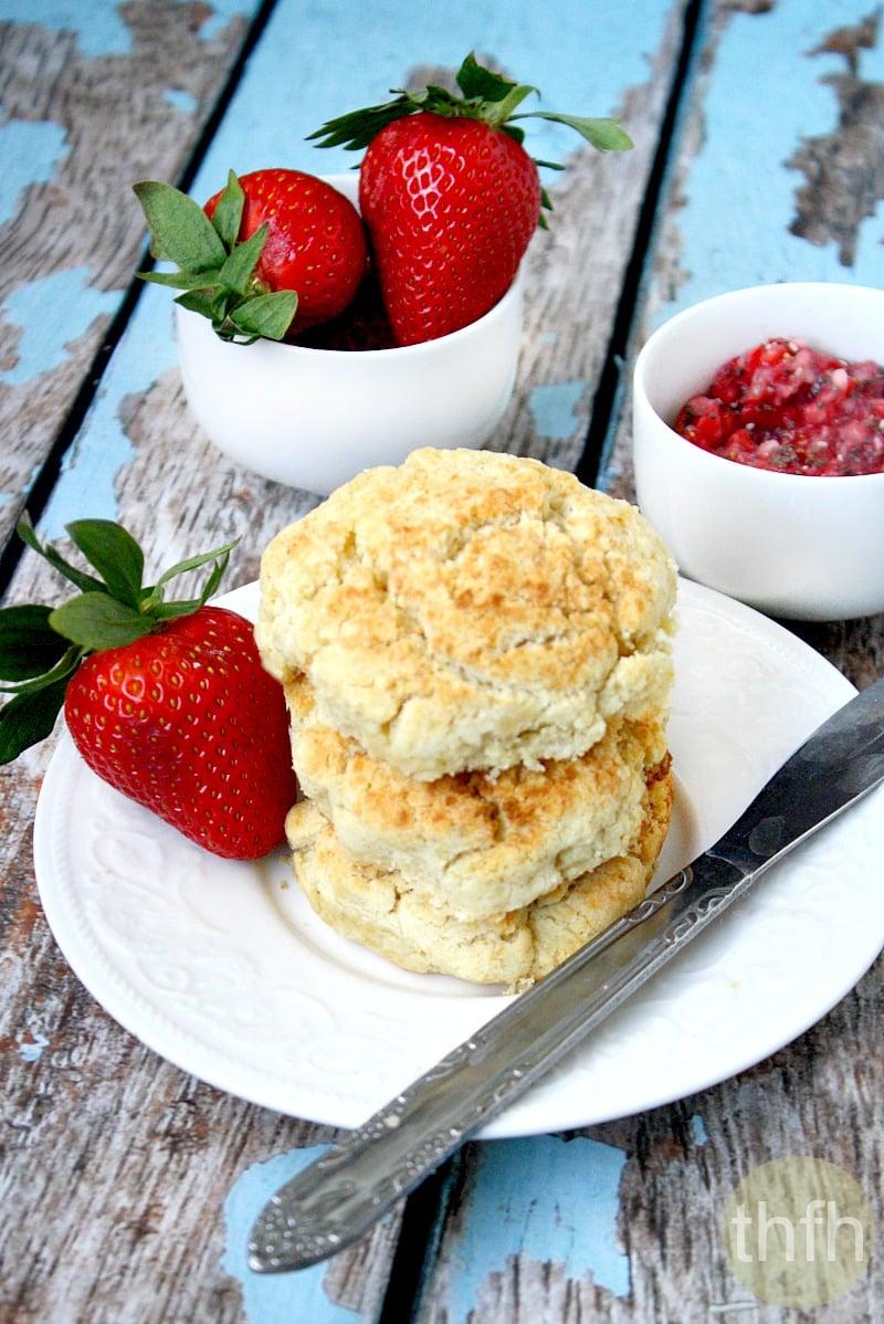 Gluten-Free Vegan Biscuits
