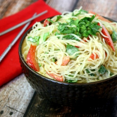 Kelp Noodles with Spicy Peanut Sauce   The Healthy Family and Home