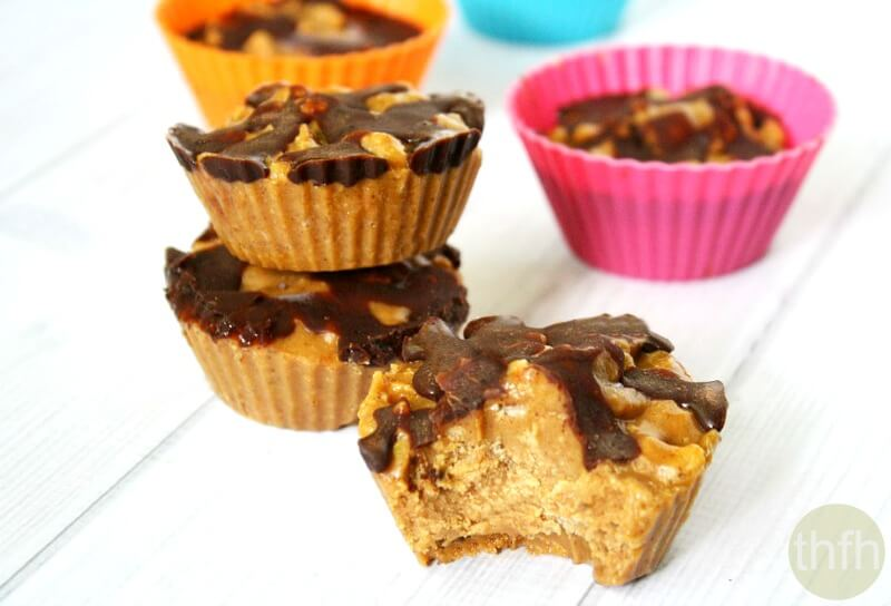 Crispy Peanut Butter Protein Cups   The Healthy Family and Home