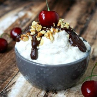 Clean Eating Banana Split Mousse | The Healthy Family and Home