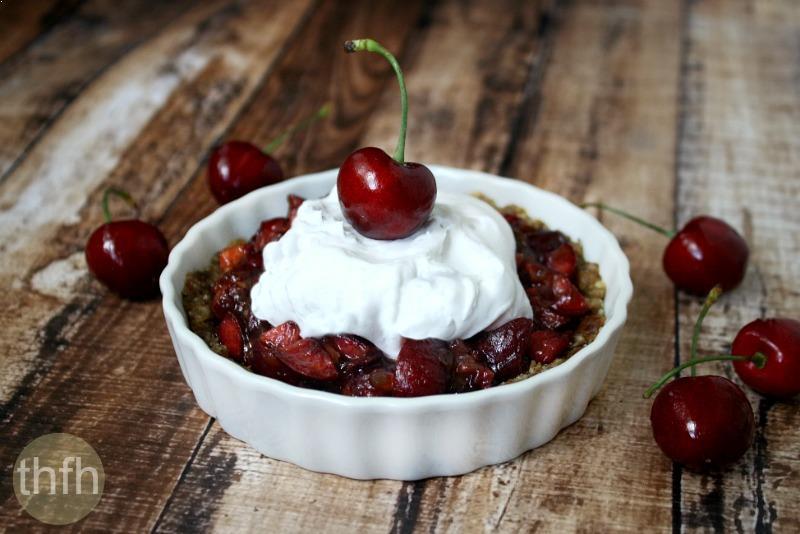 Clean Eating Vegan Cherry Tart