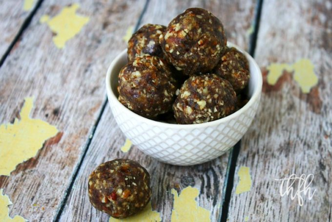 Lectin-Free Vegan Pecan Pie Truffles | The Healthy Family and Home