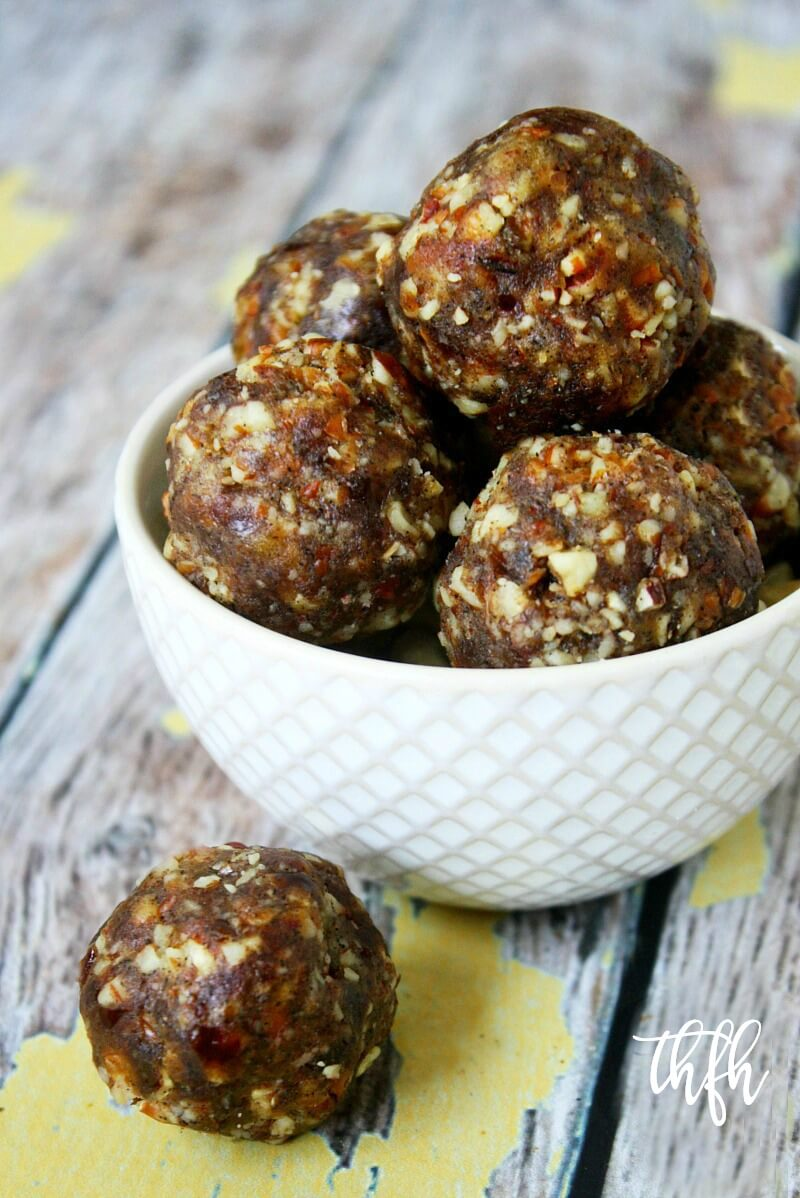 Lectin-Free Vegan Pecan Pie Truffles   The Healthy Family and Home