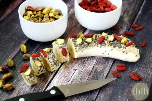 Cashew Butter Banana Sushi (Raw, Vegan, Gluten-Free, Dairy-Free, Paleo-Friendly, No Refined Sugar)