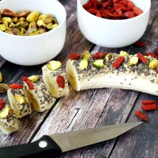 Cashew Butter Banana Sushi | The Healthy Family and Home