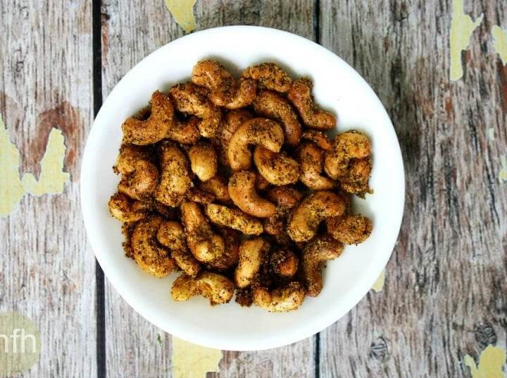 Spicy Chipotle Cashews
