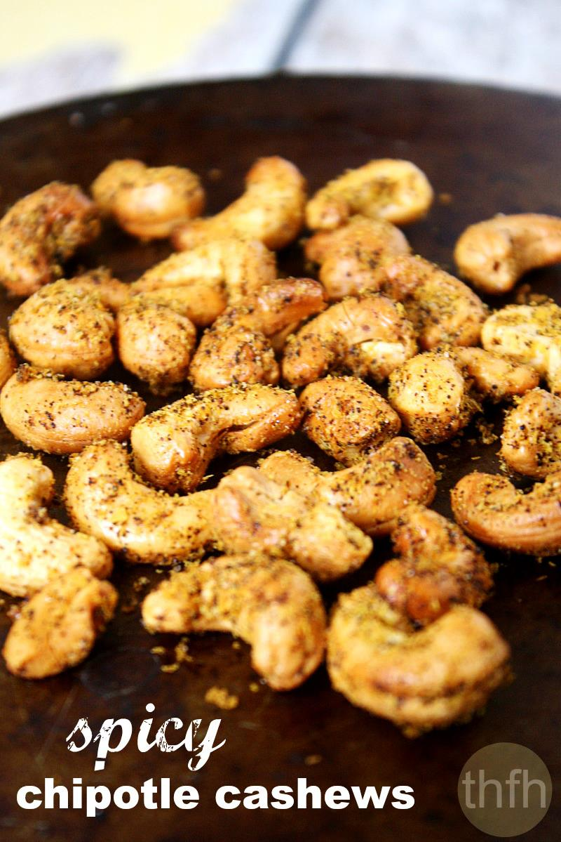 Spicy Chipotle Cashews | The Healthy Family and Home