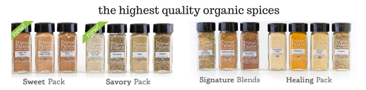 Primal Palate Organic Spices | The Healthy Family and Home