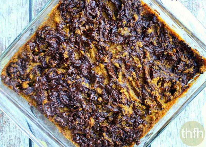 Fudgy Gluten-Free Vegan Pumpkin Swirl Brownies